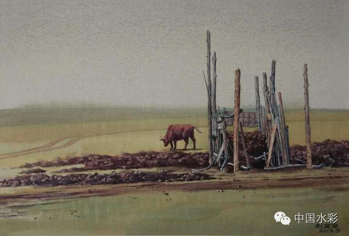 专题:内蒙古水彩师生作品展示 第18张
