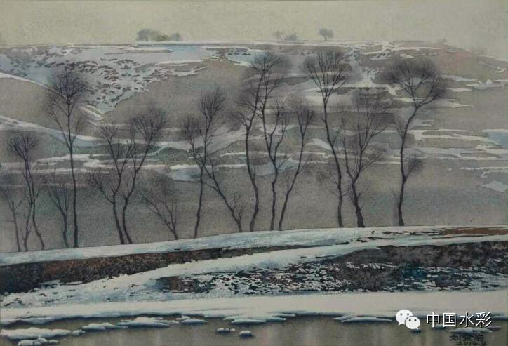 专题:内蒙古水彩师生作品展示 第21张