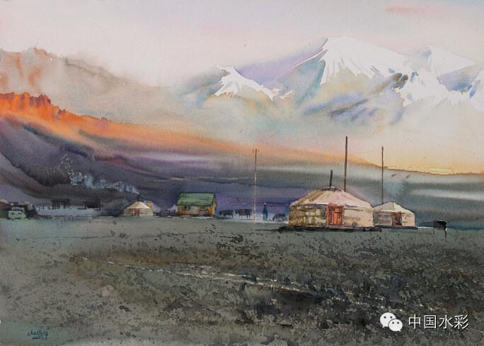 专题:内蒙古水彩师生作品展示 第31张