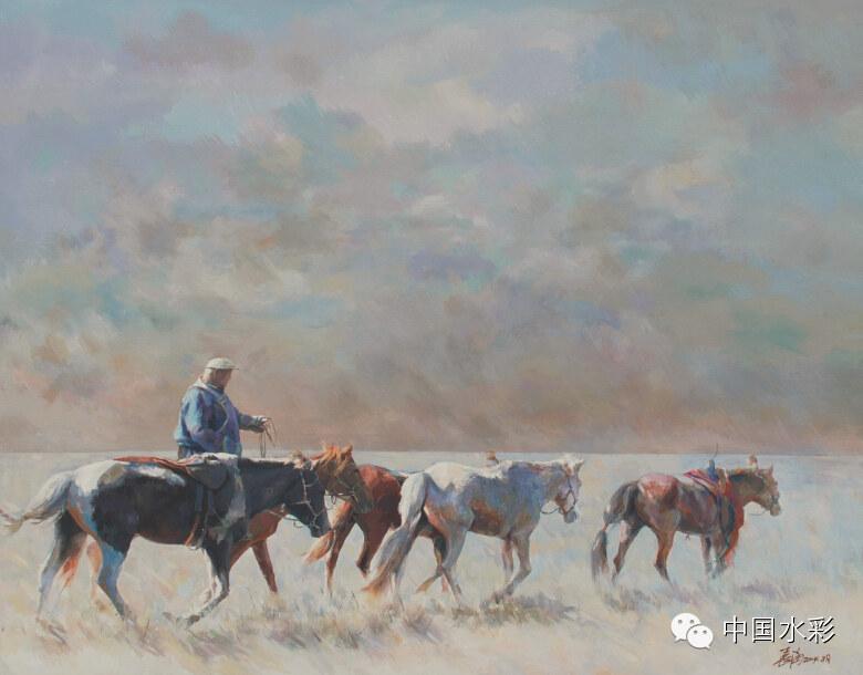 专题:内蒙古水彩师生作品展示 第35张