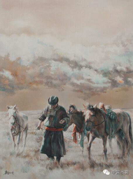 专题:内蒙古水彩师生作品展示 第33张