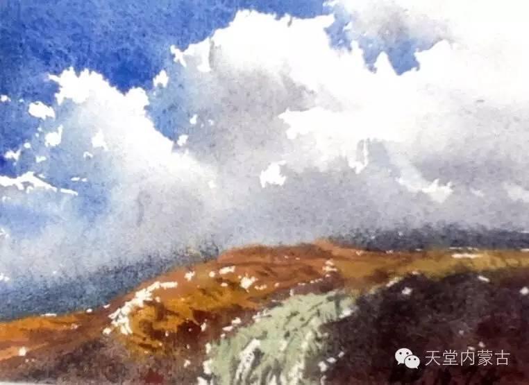 🔴内蒙古青年画家——巴达日呼水彩作品欣赏! 第16张
