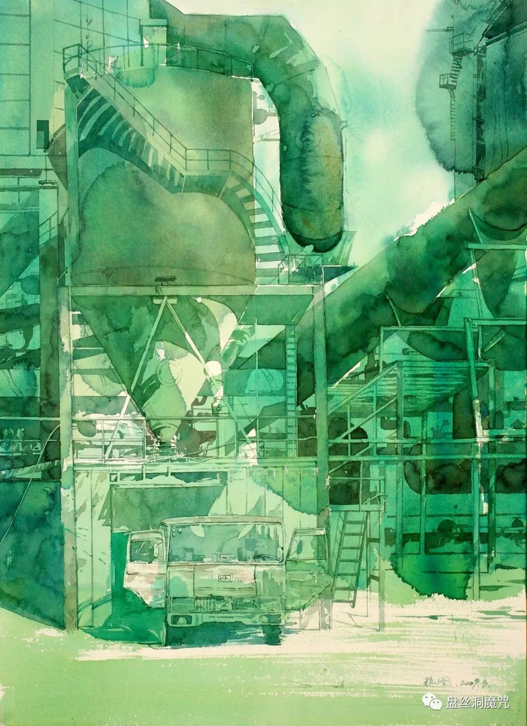 苏雅拉图水彩作品欣赏 第3张