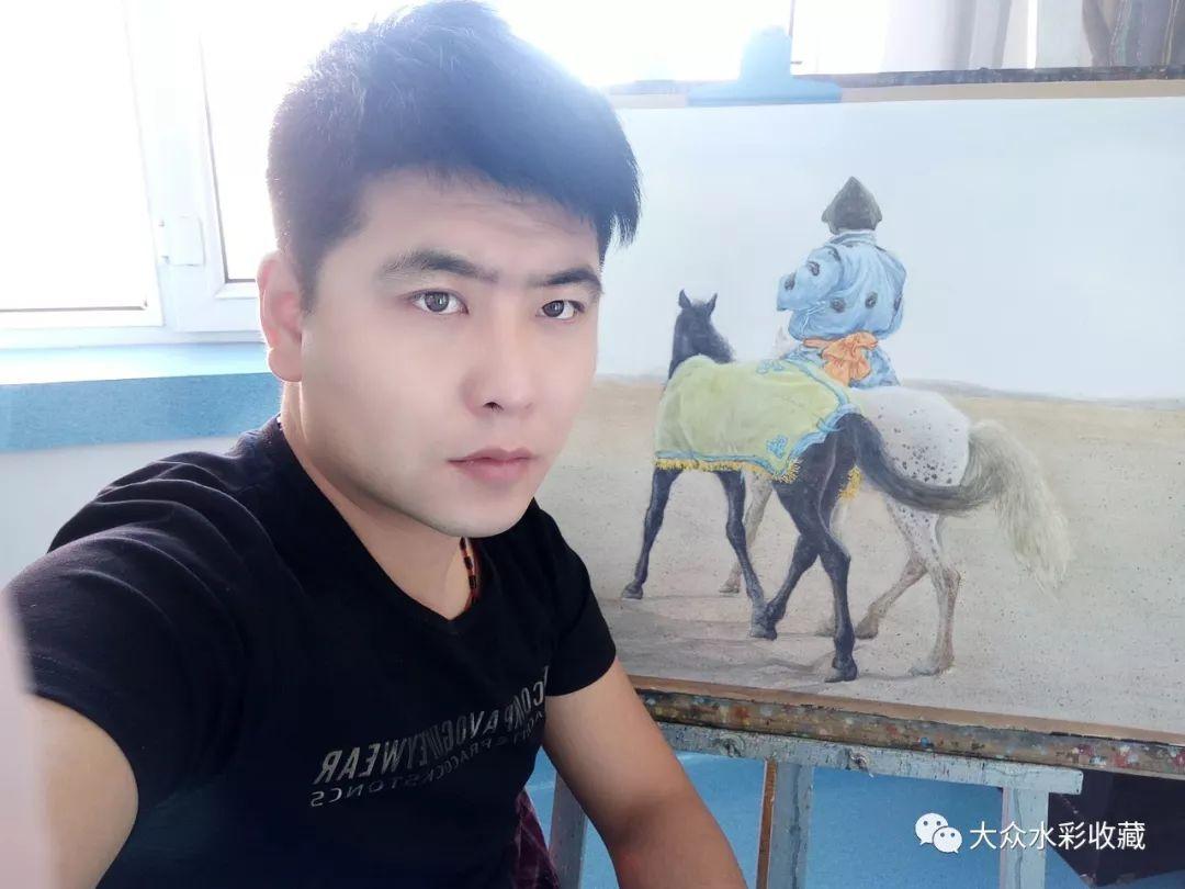 水彩画家包大伟 第1张