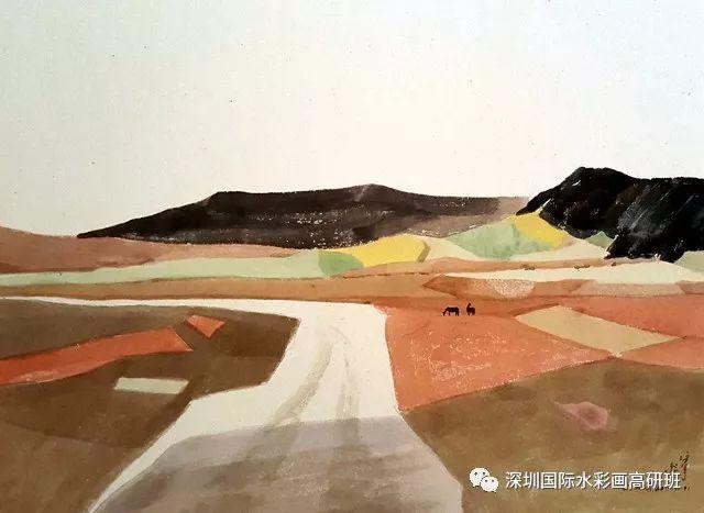 张曙光最新水彩作品欣赏 第5张