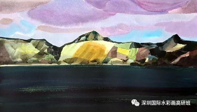 张曙光最新水彩作品欣赏 第11张
