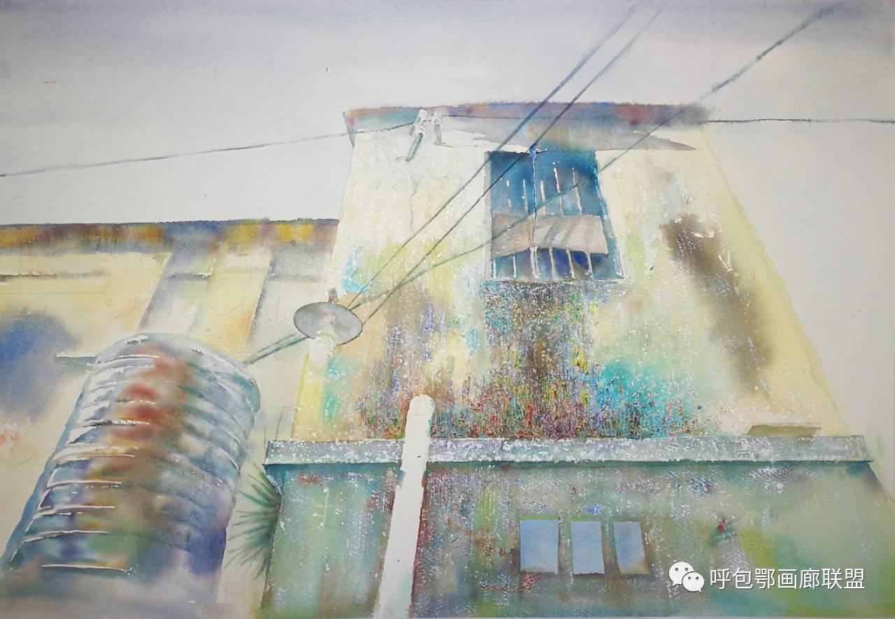 【艺玖文化】 内蒙古师范大学美术学院2013级美术学水彩班优秀毕业生展 第3张
