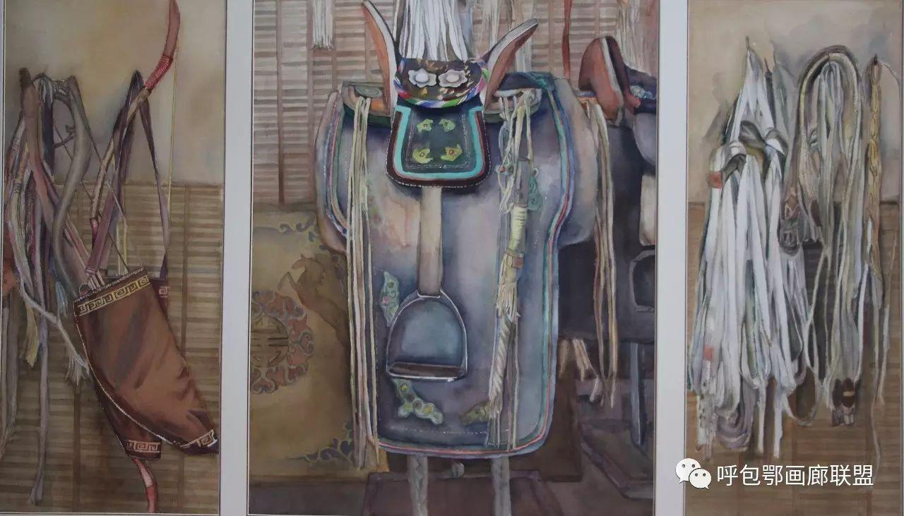 【艺玖文化】 内蒙古师范大学美术学院2013级美术学水彩班优秀毕业生展 第6张