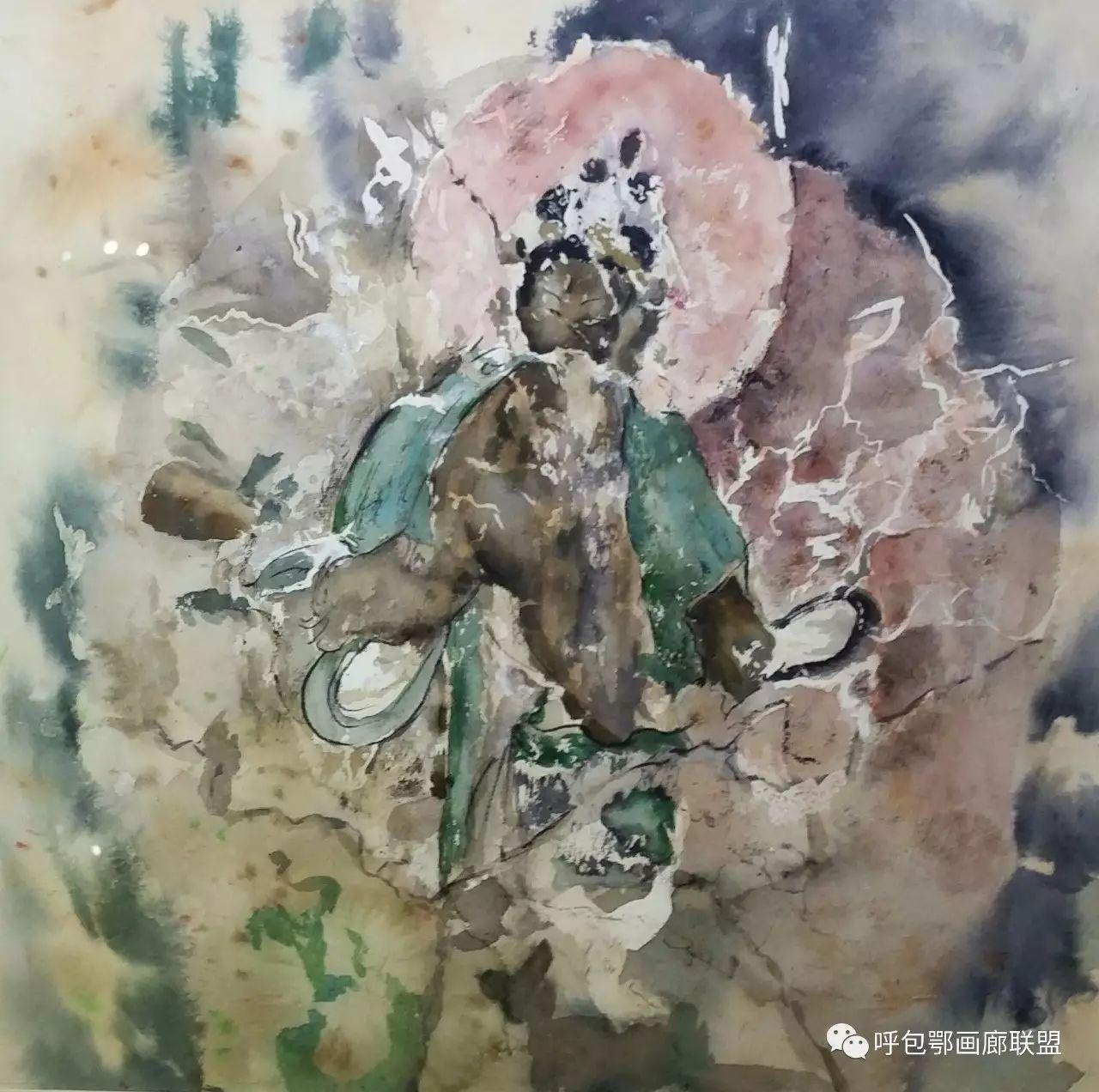 【艺玖文化】 内蒙古师范大学美术学院2013级美术学水彩班优秀毕业生展 第14张