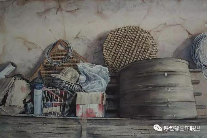 【艺玖文化】 内蒙古师范大学美术学院2013级美术学水彩班优秀毕业生展 第22张