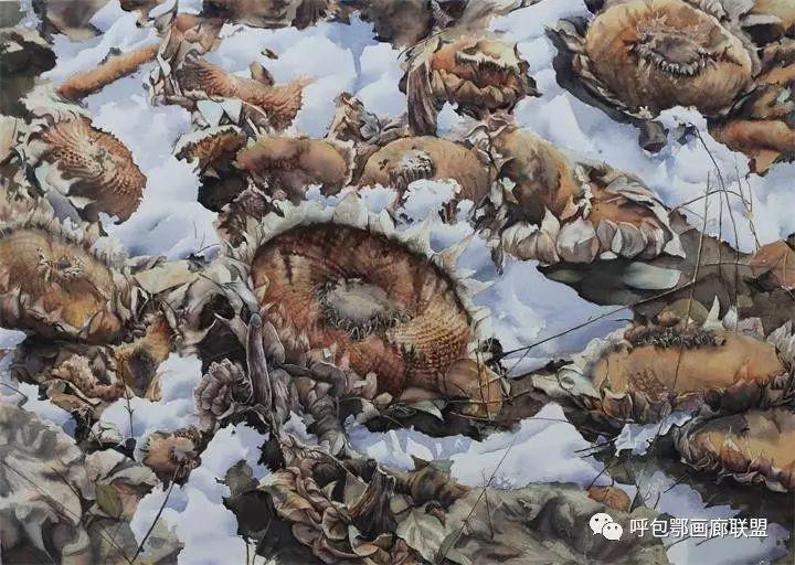 【艺玖文化】 内蒙古师范大学美术学院2013级美术学水彩班优秀毕业生展 第25张