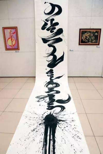 蒙古国举办传统蒙古文书法展览,弘扬传统文化 第8张
