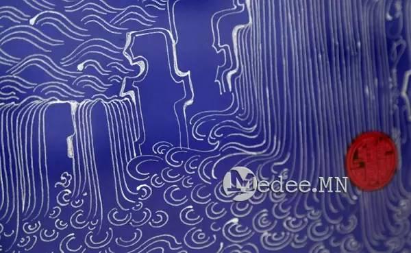 蒙古国举办传统蒙古文书法展览,弘扬传统文化 第5张