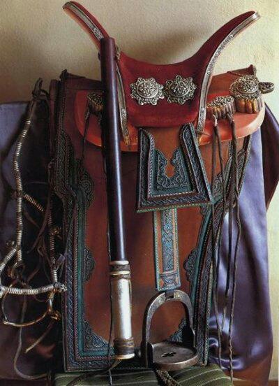〖工艺〗蒙古族民俗文化 —— 蒙古马鞍欣赏 第3张