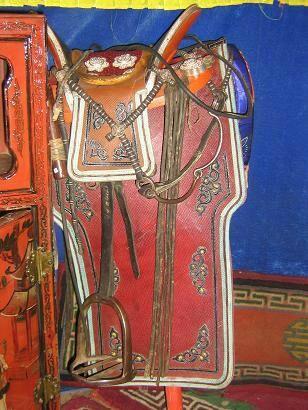 〖工艺〗蒙古族民俗文化 —— 蒙古马鞍欣赏 第7张