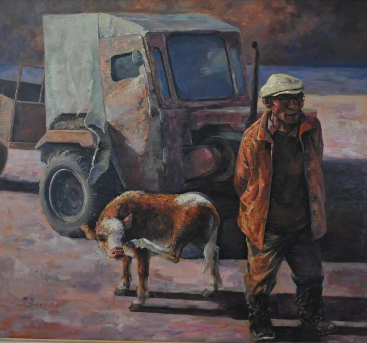 【蒙古影像】一位蒙古族画家 用油画记录蒙古的风土人情 第5张