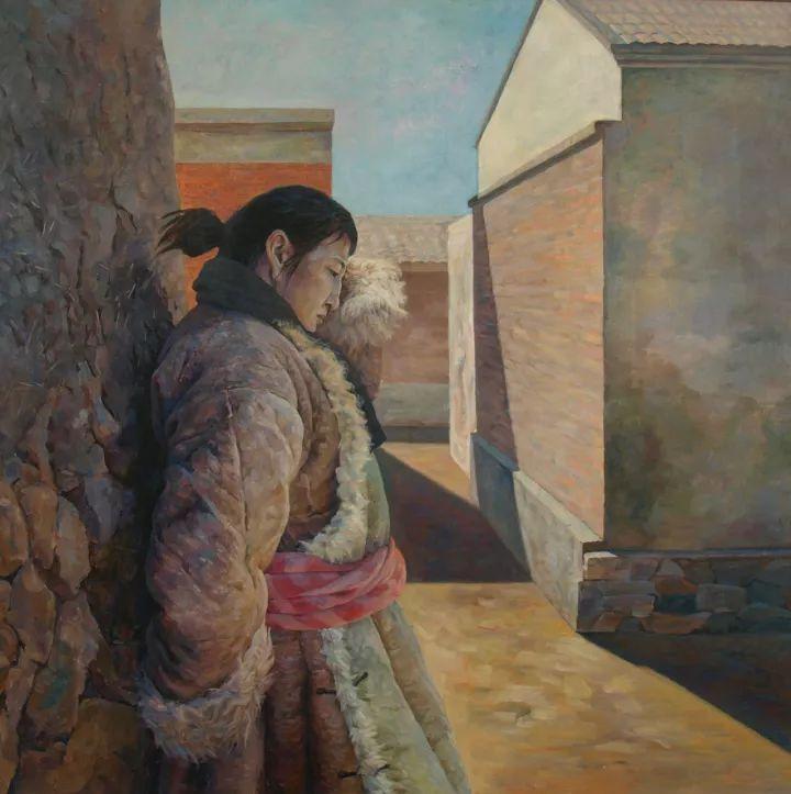 【蒙古影像】一位蒙古族画家 用油画记录蒙古的风土人情 第8张