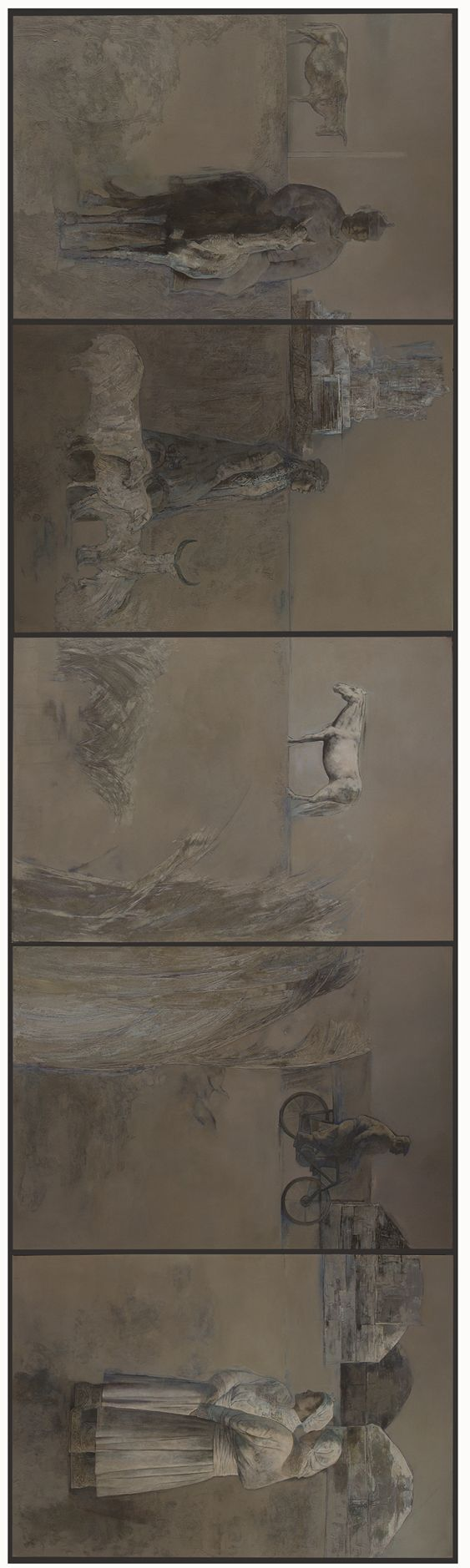 蒙古族画家达林太作品欣赏 第4张