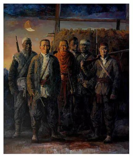 蒙古族画家达林太作品欣赏 第11张