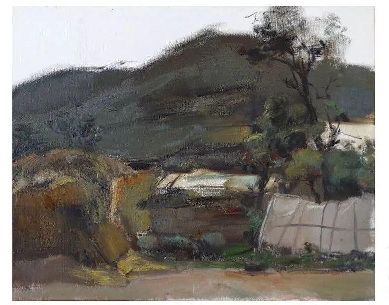 蒙古族画家达林太作品欣赏 第18张