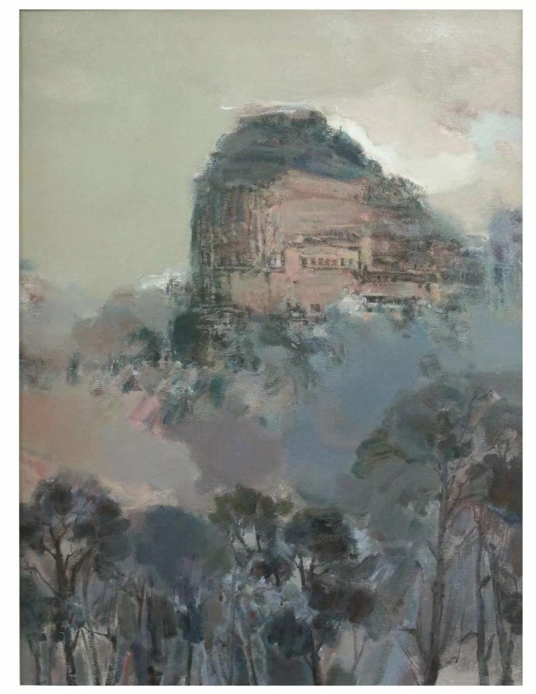 蒙古族画家达林太作品欣赏 第20张