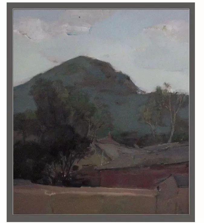 蒙古族画家达林太作品欣赏 第17张