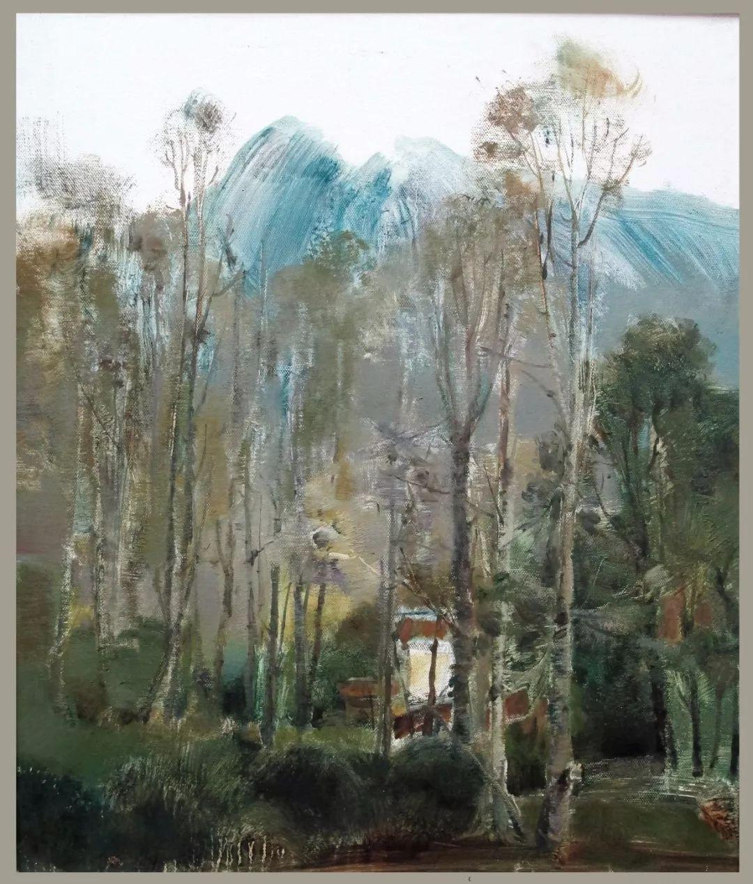 蒙古族画家达林太作品欣赏 第22张