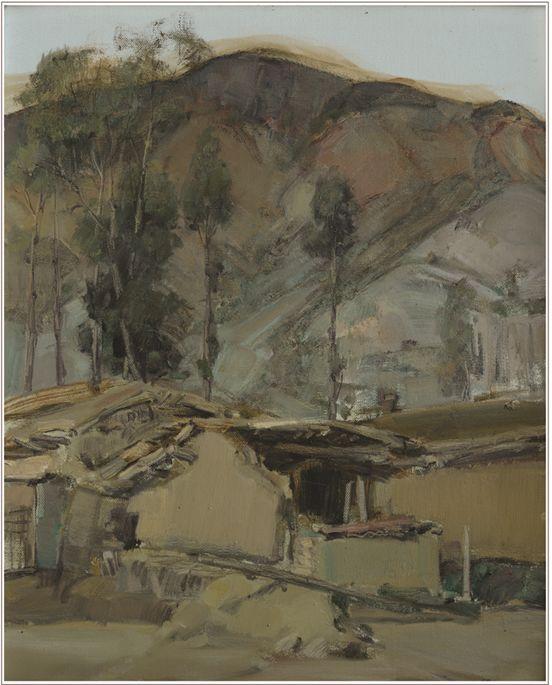 蒙古族画家达林太作品欣赏 第25张