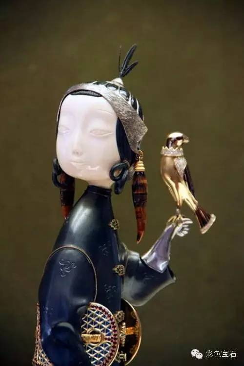 蒙古裔雕塑家Dashi Namdakov的图腾首饰 第5张