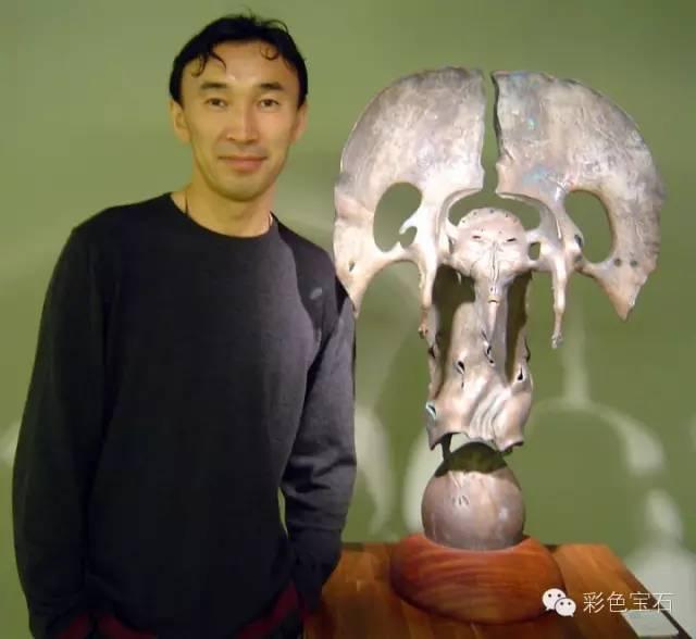 蒙古裔雕塑家Dashi Namdakov的图腾首饰 第2张