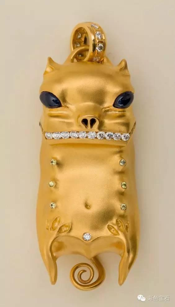 蒙古裔雕塑家Dashi Namdakov的图腾首饰 第29张