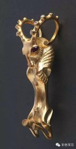 蒙古裔雕塑家Dashi Namdakov的图腾首饰 第26张