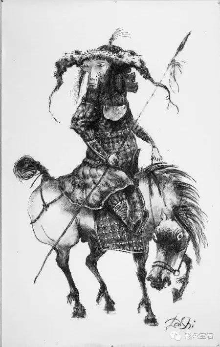 蒙古裔雕塑家Dashi Namdakov的图腾首饰 第32张
