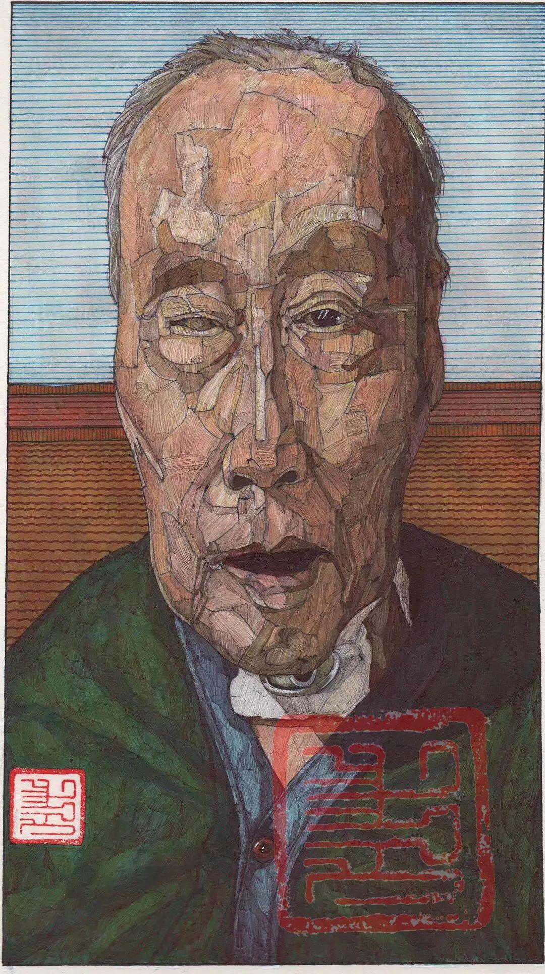 赤乐格尔,一个有态度的画匠。 第13张