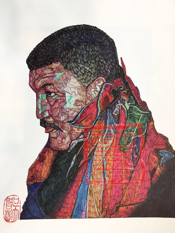 赤乐格尔,一个有态度的画匠。 第21张
