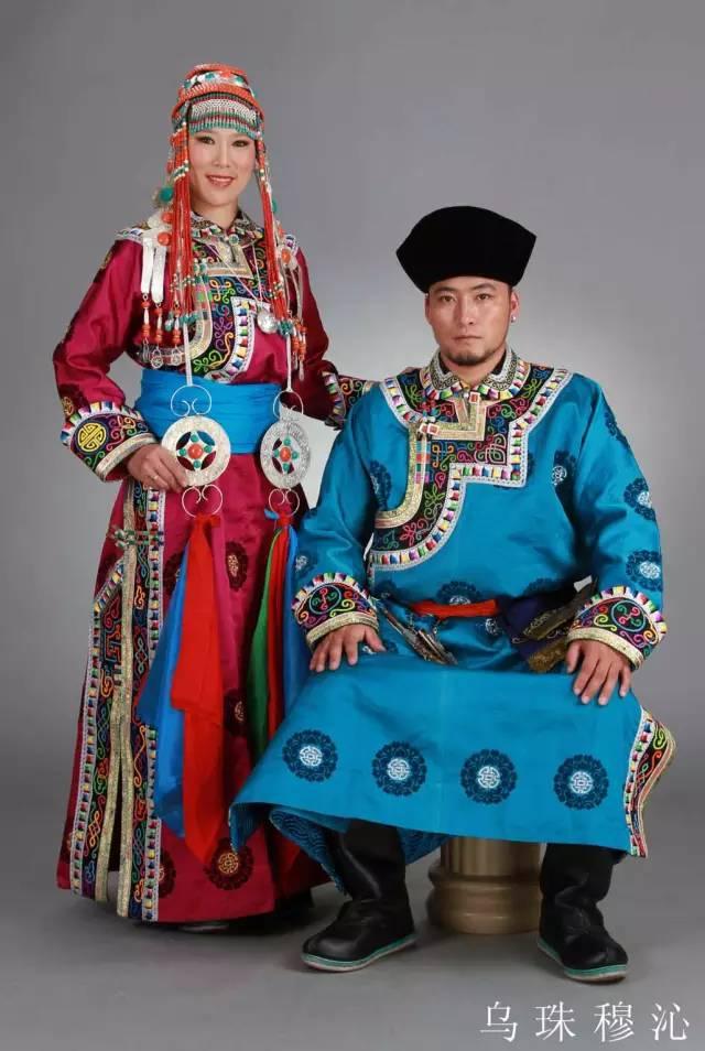 内蒙古蒙古族28部落的108套标准服饰和34组头饰 第2张