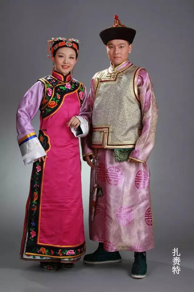 内蒙古蒙古族28部落的108套标准服饰和34组头饰 第8张