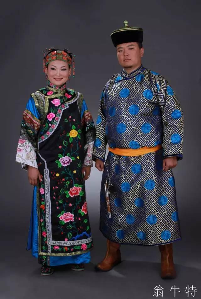 内蒙古蒙古族28部落的108套标准服饰和34组头饰 第3张
