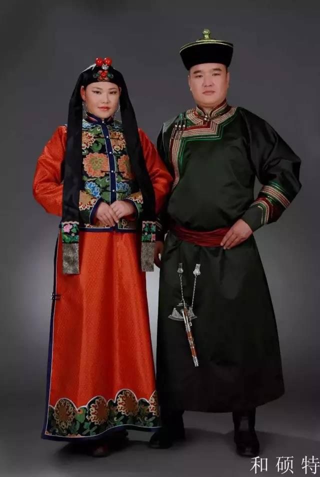 内蒙古蒙古族28部落的108套标准服饰和34组头饰 第6张