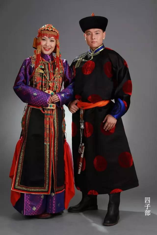 内蒙古蒙古族28部落的108套标准服饰和34组头饰 第13张