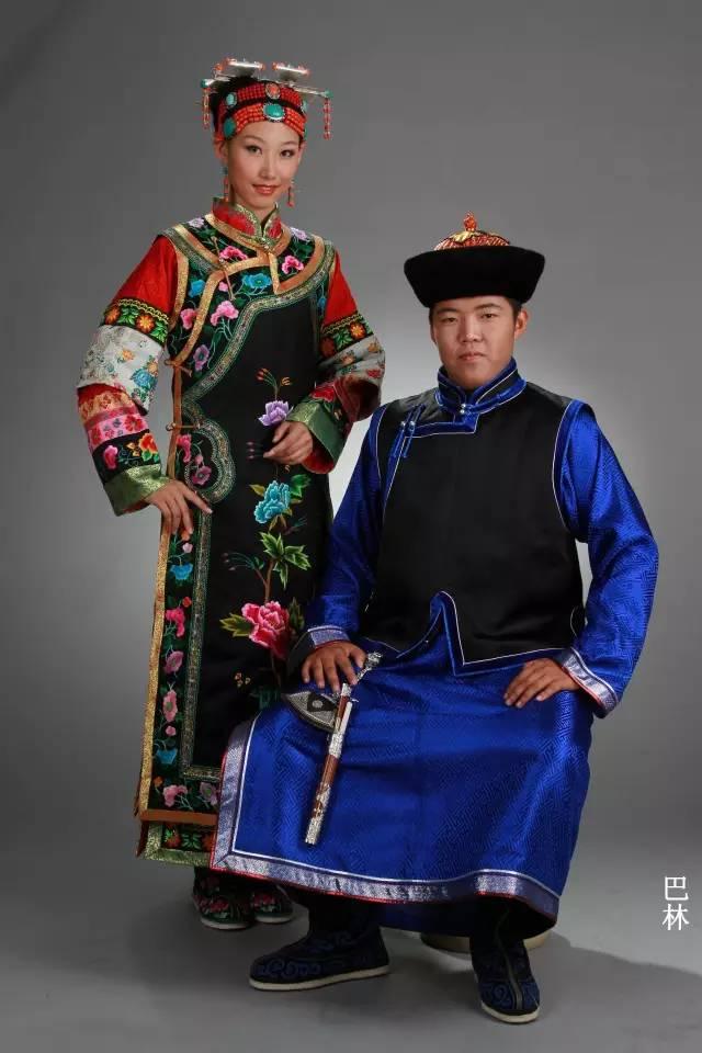 内蒙古蒙古族28部落的108套标准服饰和34组头饰 第15张