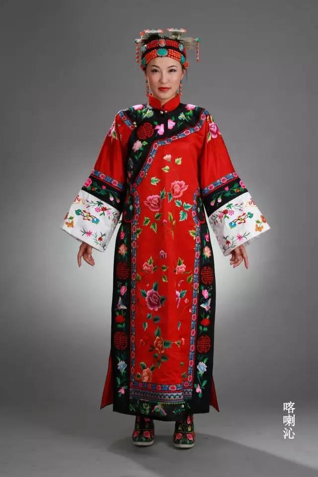 内蒙古蒙古族28部落的108套标准服饰和34组头饰 第14张