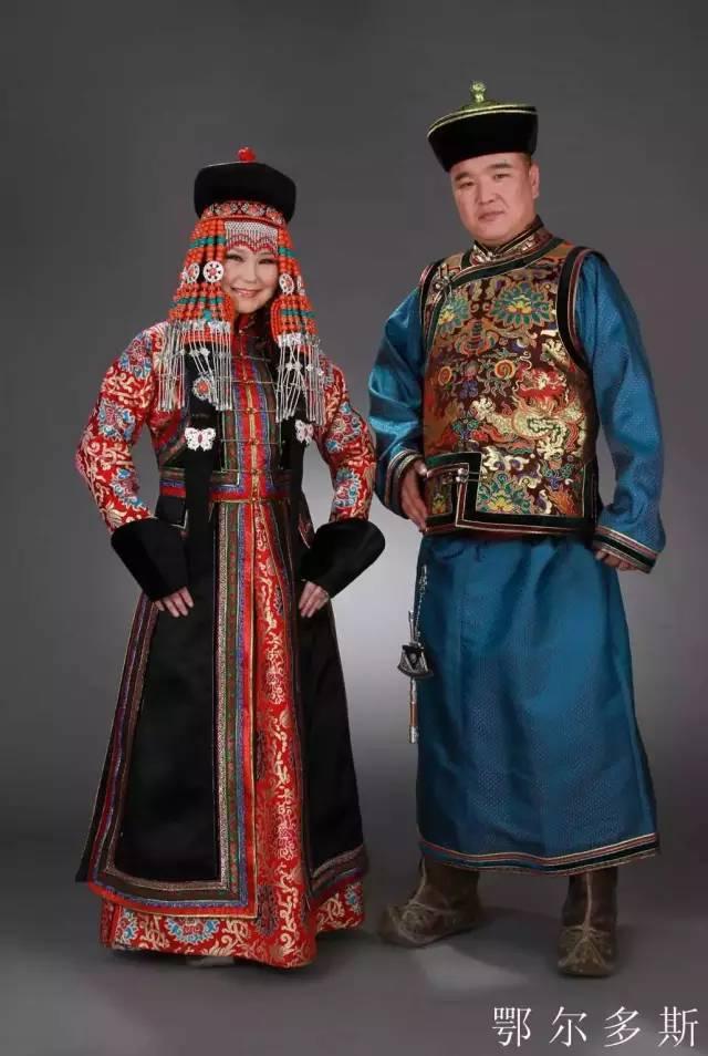 内蒙古蒙古族28部落的108套标准服饰和34组头饰 第11张