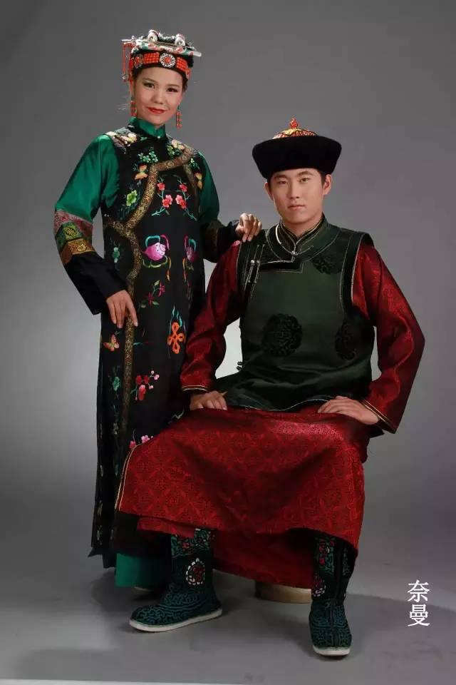 内蒙古蒙古族28部落的108套标准服饰和34组头饰 第17张