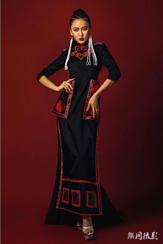 穿蒙古服饰的姑娘,太美了.... 第4张