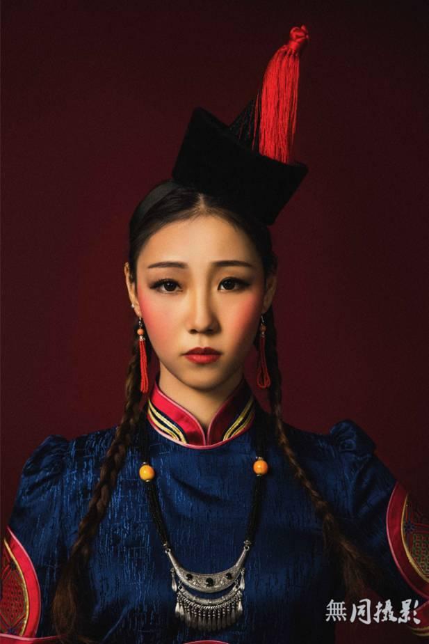 穿蒙古服饰的姑娘,太美了.... 第11张