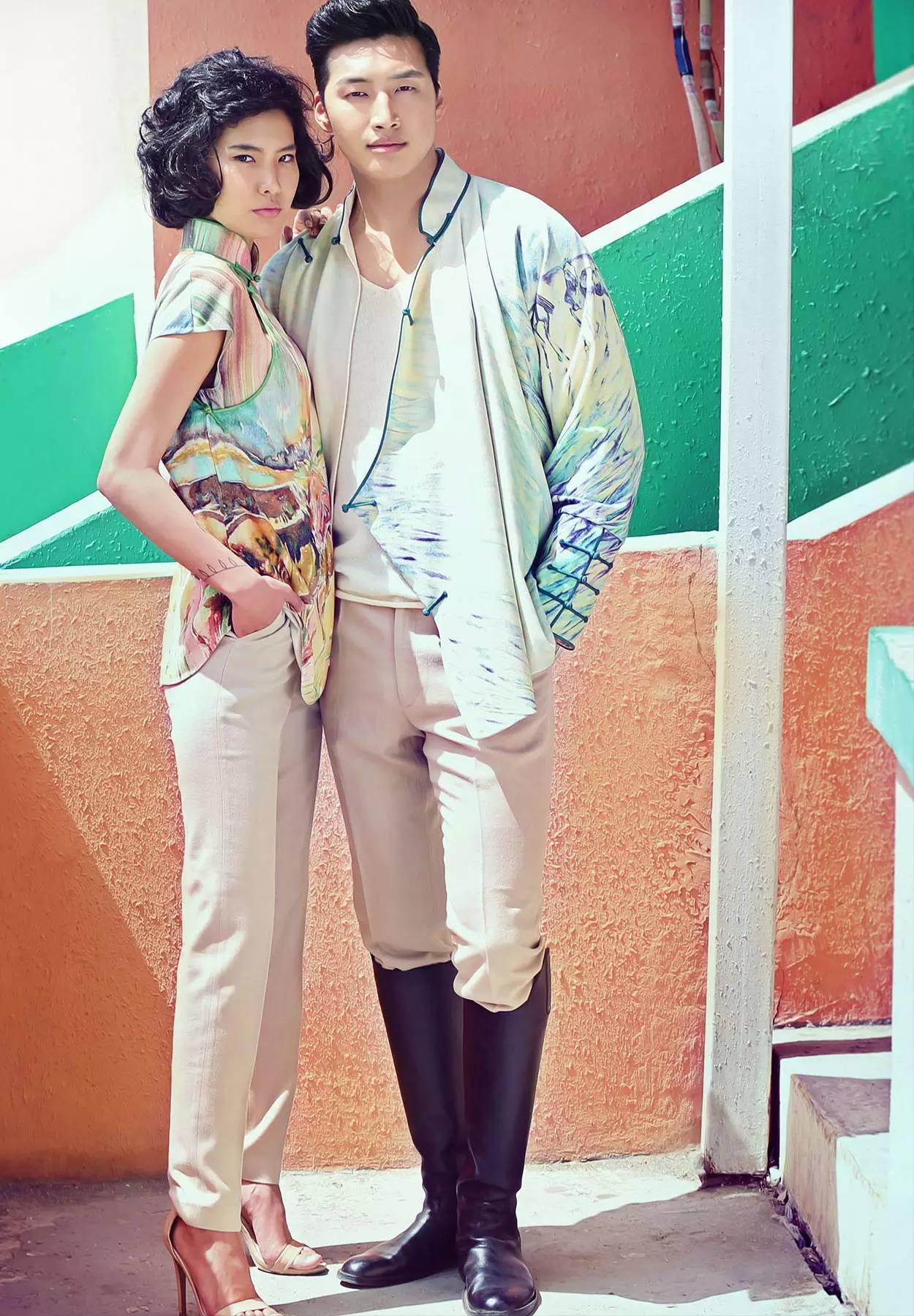 【蒙古服饰】蒙古国知名大牌GOBI 最新流行服饰展播 美呆了 第3张