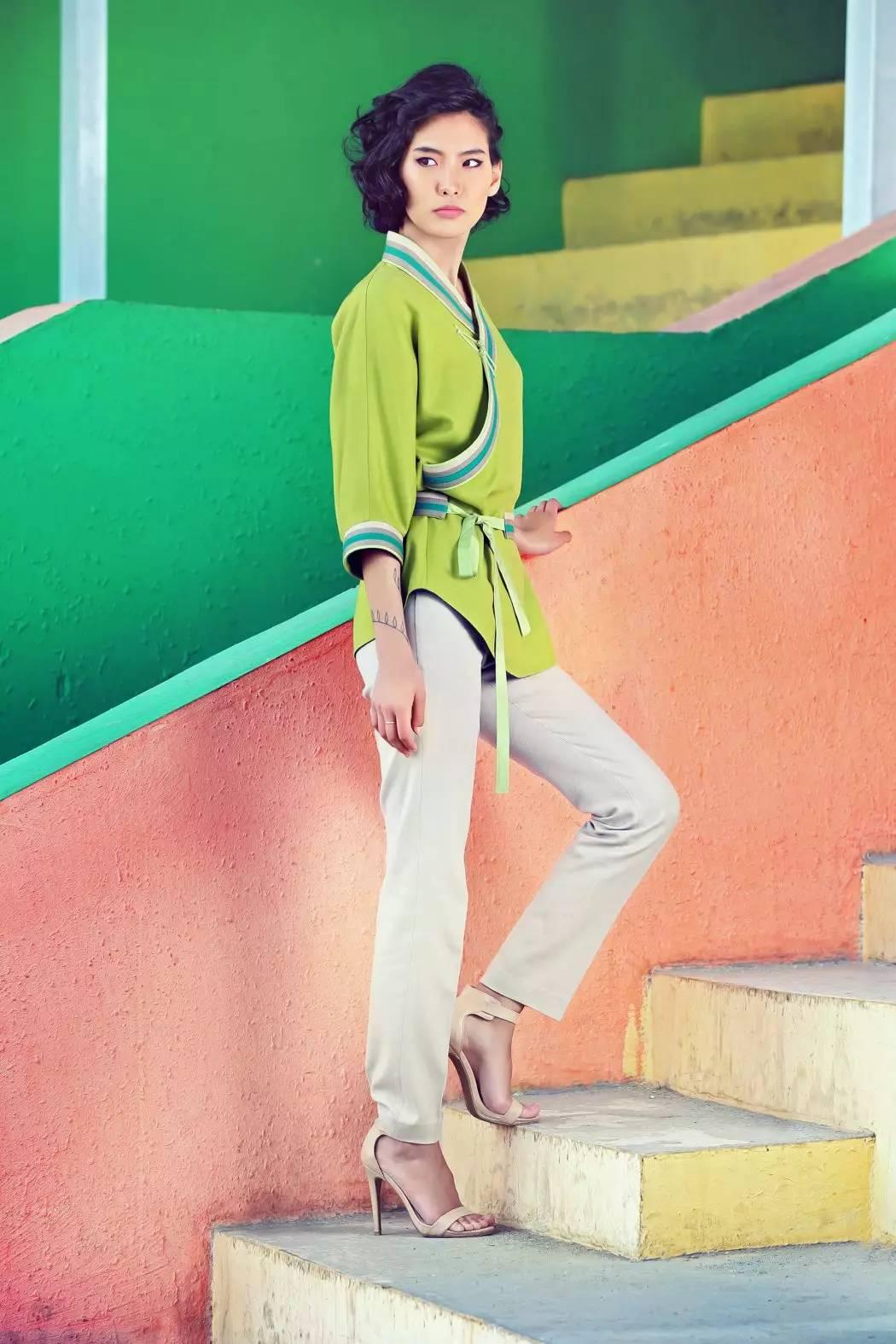 【蒙古服饰】蒙古国知名大牌GOBI 最新流行服饰展播 美呆了 第8张