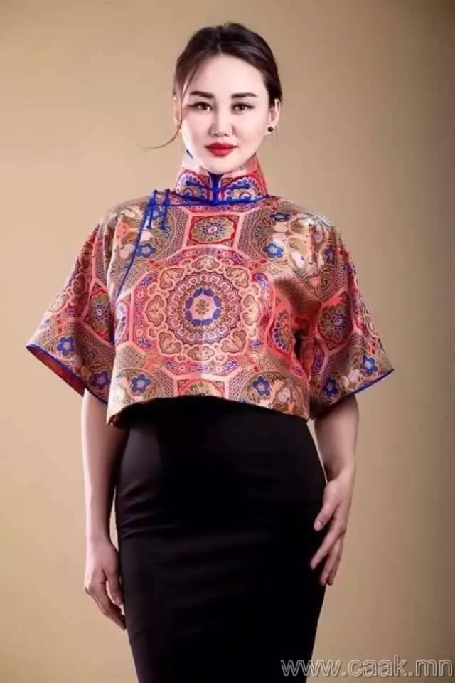 美丽的蒙古女孩 漂亮的蒙古服饰 第11张