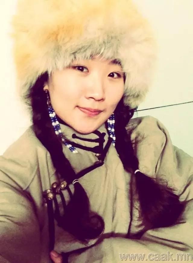美丽的蒙古女孩 漂亮的蒙古服饰 第18张